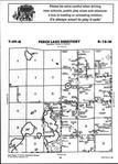 Map Image 034, Carlton County 2001 Published by Farm and Home Publishers, LTD