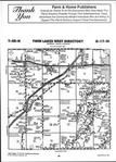 Map Image 054, Carlton County 2001 Published by Farm and Home Publishers, LTD