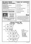 Index Map 1, Chisago County 2000