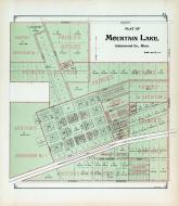 Mountain Lake, Prince's Out-Lots, Auditor's Subdivision, Bargen's Addition, Cottonwood County 1896