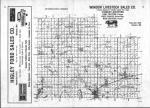 Index Map, Cottonwood County 1981