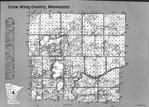 Index Map 1, Crow Wing County 1995 Published by Farm and Home Publishers, LTD