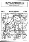 Bay Lake T45N-R28W, Crow Wing County 1995 Published by Farm and Home Publishers, LTD