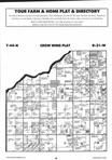Map Image 033, Crow Wing County 1995 Published by Farm and Home Publishers, LTD