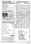 Index Map 1, Crow Wing County 1998 Published by Farm and Home Publishers, LTD