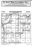 Map Image 050, Crow Wing County 1998 Published by Farm and Home Publishers, LTD