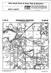 Map Image 051, Crow Wing County 1998 Published by Farm and Home Publishers, LTD