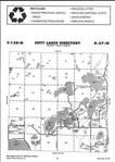 Map Image 024, Crow Wing County 2001 Published by Farm and Home Publishers, LTD