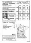 Index Map 1, Dodge County 1998