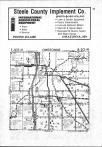Map Image 011, Dodge and Steele Counties 1981
