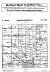 Dodge County Map Image 022, Dodge and Steele Counties 1996
