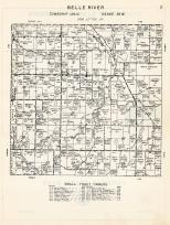Belle River Township, Douglas County 1958