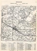 Brandon Township, Douglas County 1958