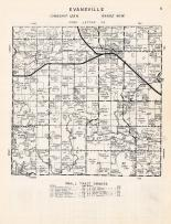 Evansville Township, Douglas County 1958