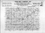 Index Map, Fillmore County 1985