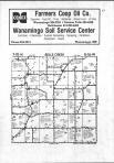 Belle Creek T111N-R16W, Goodhue County 1983 Published by Directory Service Company