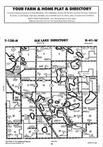 Elk Lake T128N-R41W, Grant County 1996 Published by Farm and Home Publishers, LTD