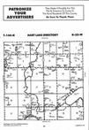 Hart Lake T144N-R32W, Hubbard County 1997 Published by Farm and Home Publishers, LTD