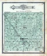 Petersburg Township, Des Moines River, Jackson County 1914