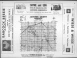Index Map, Jackson County 1960