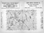 Index Map, Kandiyohi County 1960
