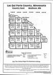 Index Map 1, Lac Qui Parle County 1997