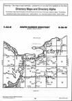 Map Image 001, Mille Lacs County 1999