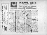 Index Map, Murray County 1960