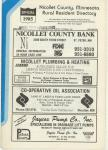 Title Page, Nicollet County 1985