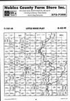 Map Image 032, Nobles County 1996