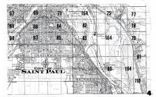 Index Map 004, Ramsey - Dakota - Washington  Counties and St Paul 1960