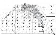 Index Map 012, Ramsey - Dakota - Washington  Counties and St Paul 1960