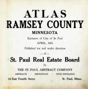 Title Page, Ramsey County 1931