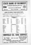 Index and Legend, Renville County 1968