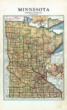 Minnesota State Map, Rock County 1935