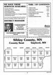 Table of Contents, Sibley County 2000