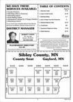 Table of Contents, Sibley County 2002