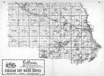 Index Map, Stearns County 1967