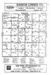 Dodge County Map Image 012, Steele and Dodge Counties 1986