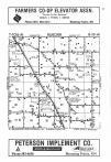 Steele County Map Image 001, Steele and Dodge Counties 1986