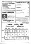 Table of Contents, Swift County 2002