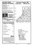 Table of Contents, Traverse County 1998