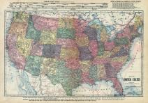 United States Map, Wilkin County 1915