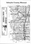 Schuyler County Index Map 001, Adair and Schuyler Counties 1999