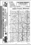 Adair County Index Map 001, Adair and Schuyler Counties 2001