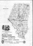 Index Map, Boone County 1982