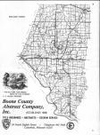 Index Map, Boone County 1984 Published by Directory Service Company