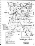 Index Map, Crawford County 1970