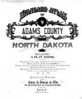 Title Page, Adams County 1917