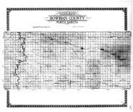 Bowman County Outline Map, Bowman County 1917